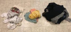 dirty laundry, laundry schedule,