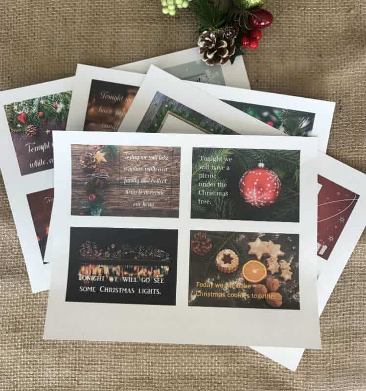 12 Days of Christmas printable pic