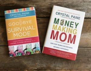 Crystal Paine's (a.k.a Money Saving Mom) books
