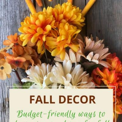 Simple Fall Decor-How to Make Your Home Cozy for Autumn
