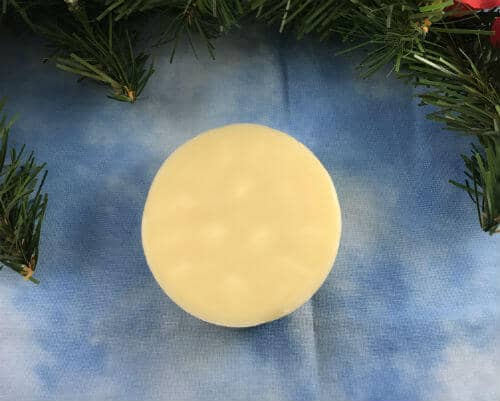 Finished lotion bar-the perfect Christmas gift