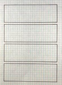 Outline of garden beds
