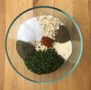 Spices for french onion dip mix