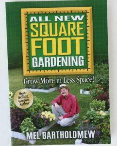 Square Foot Gardening by Mel Bartholomew | favorite gardening books
