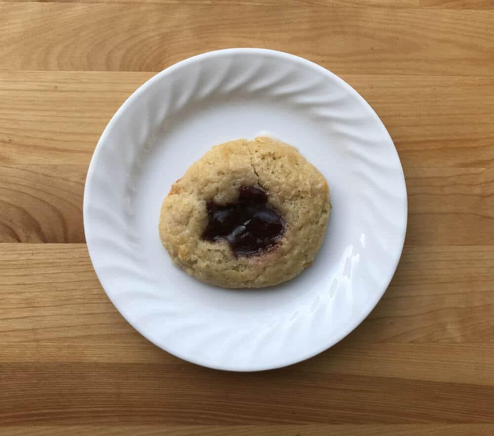Cherry Danish made from homemade baking mix