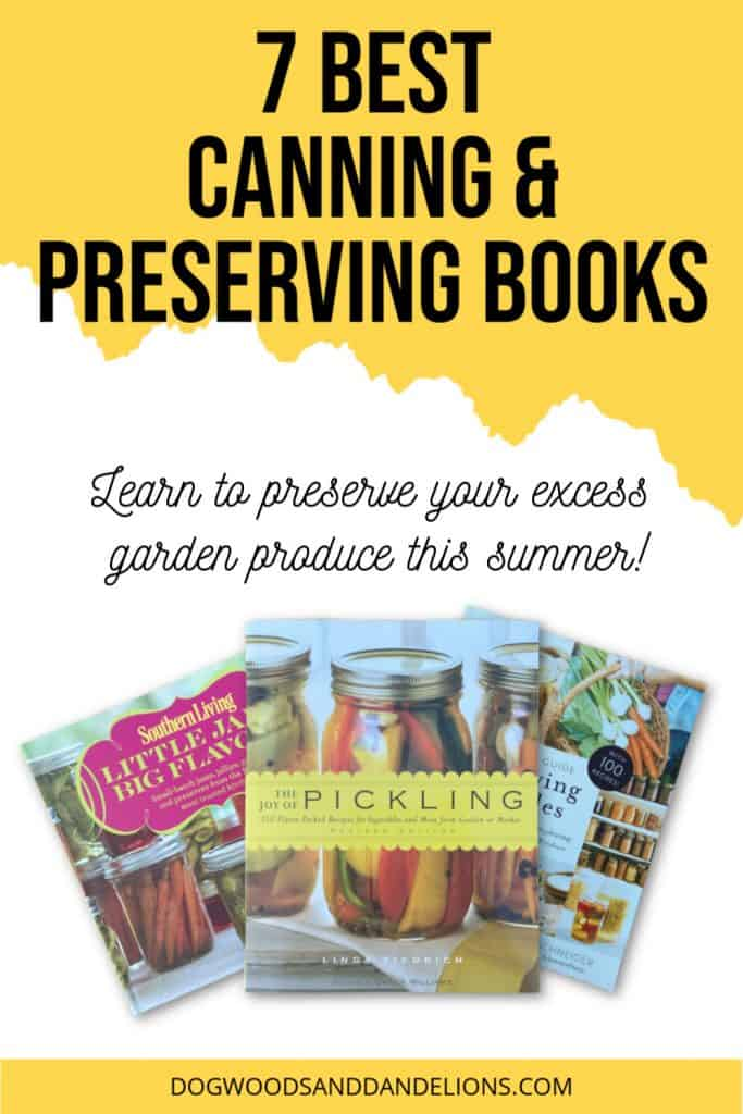 Canning & preserving books for beginners