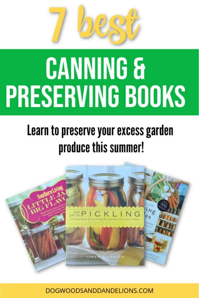 canning and preserving books