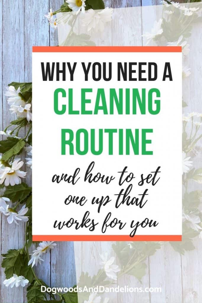 How to set up a cleaning routine