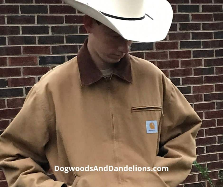 A warm coat is a great gift for the homesteader.