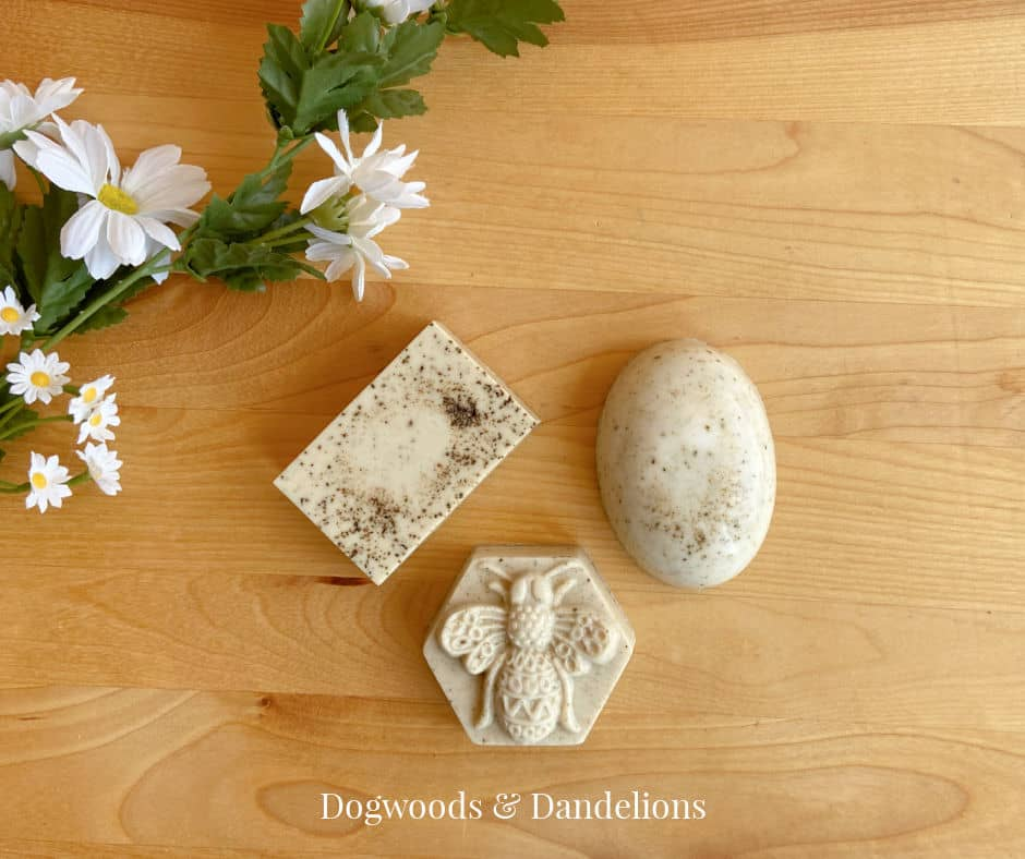 3 bars of coffee soap for Mom
