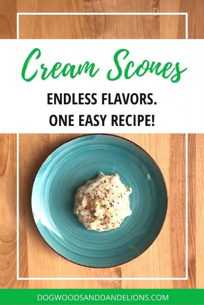 easy cream scones