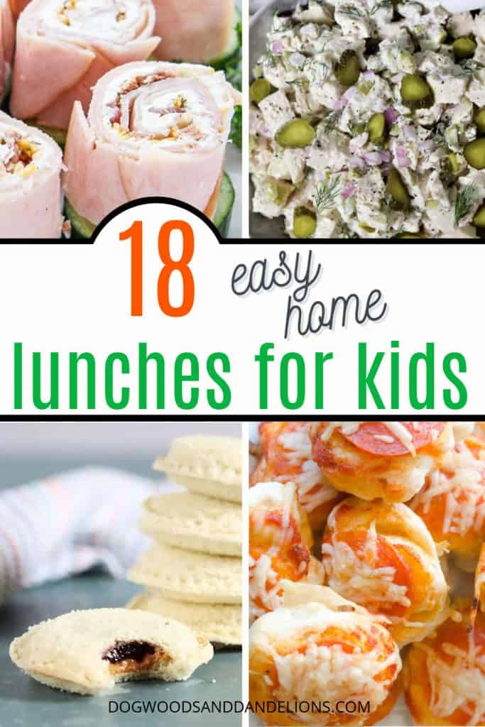 easy home lunches for kids