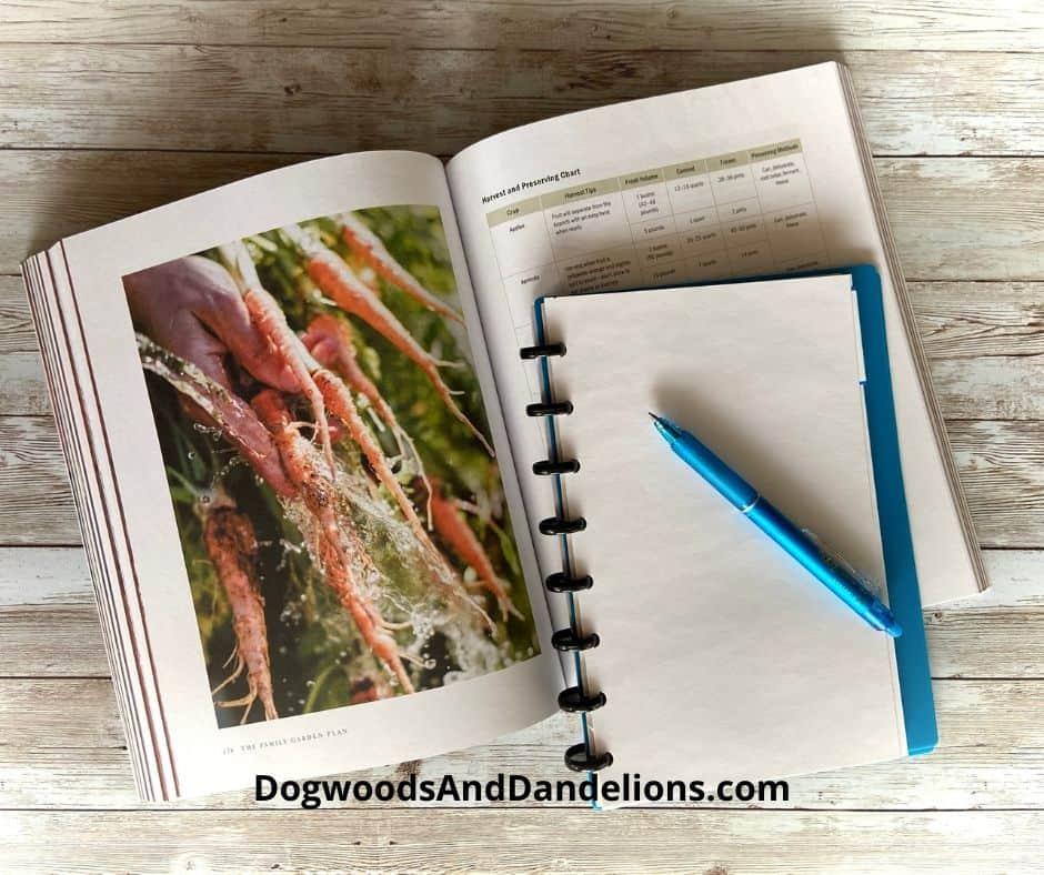 Taking notes on The Family Garden Plan
