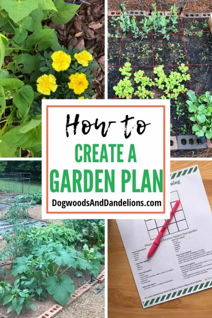 How to create garden plans