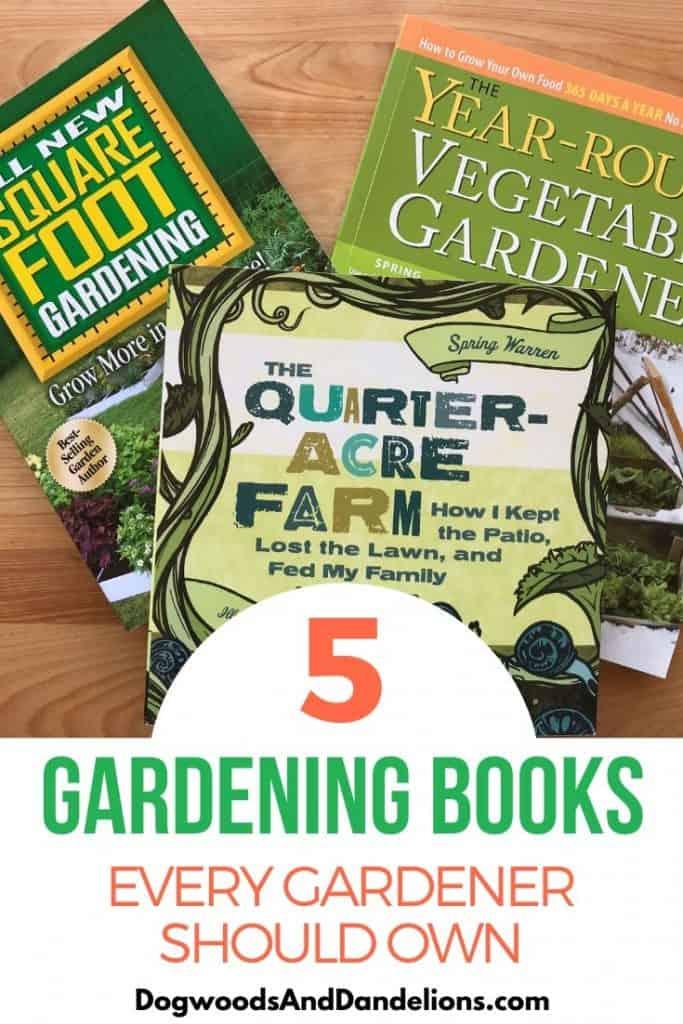 5 gardening books you need