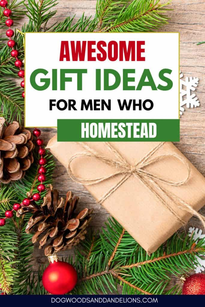 Gift guide for women who homestead