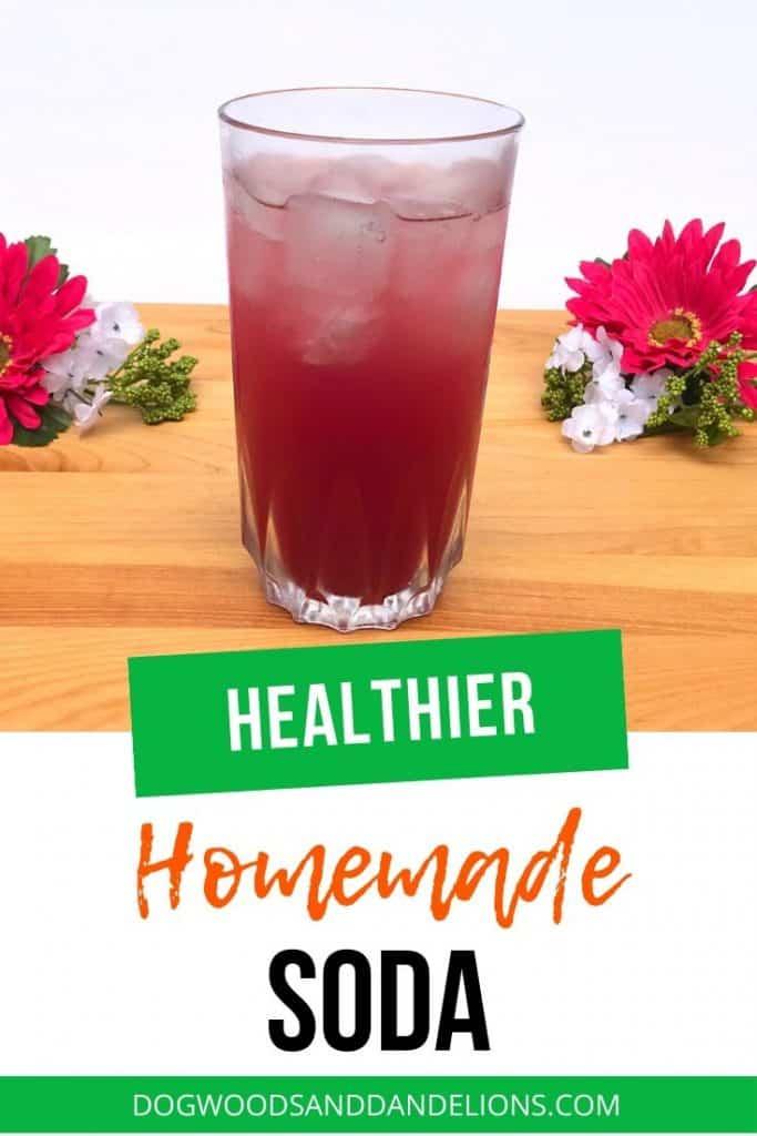 healthier homemade soda