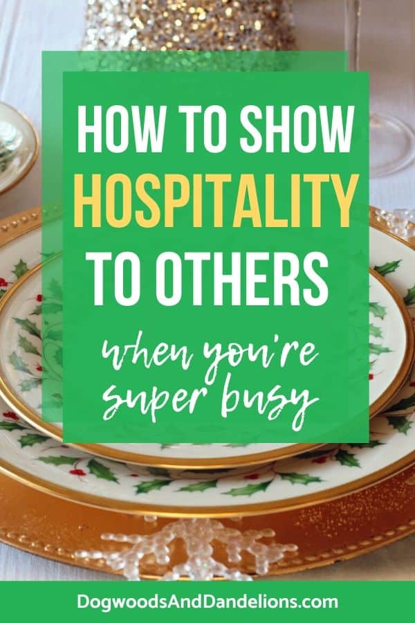 how to show hospitality to others