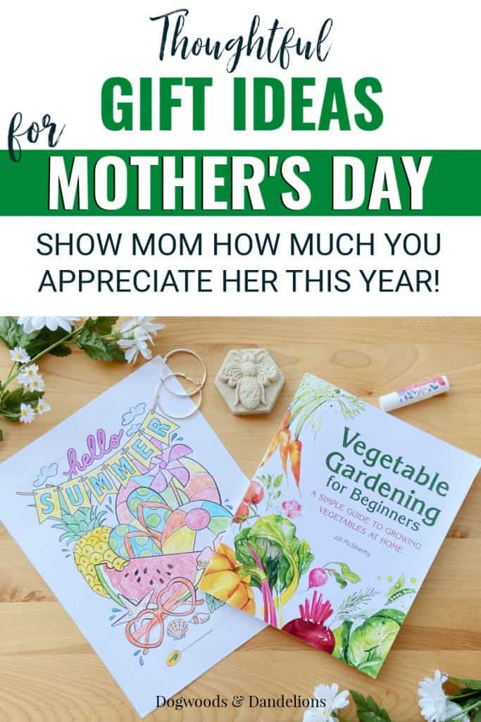 various gift ideas for Mother's Day