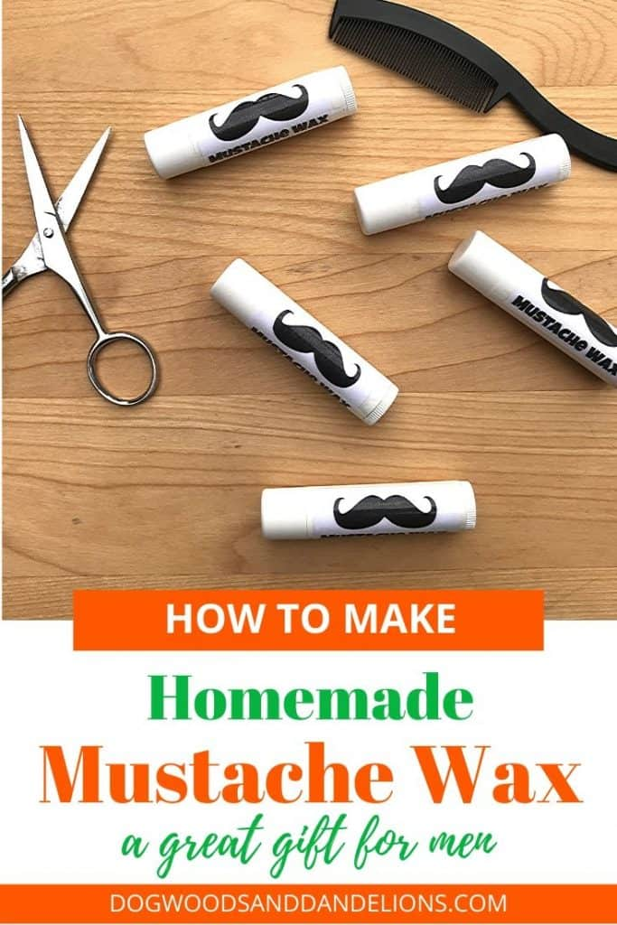homemade mustache wax