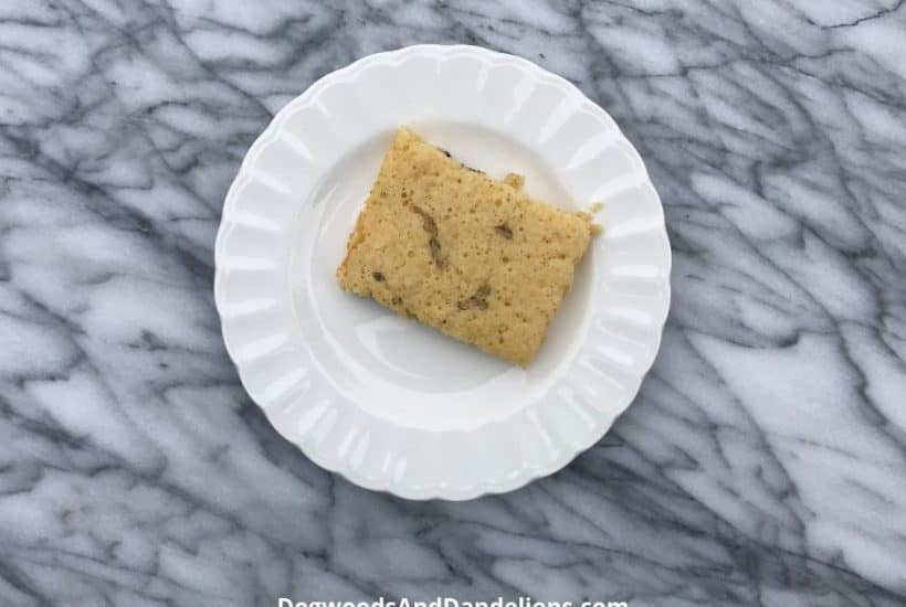 oven pancake on a plate