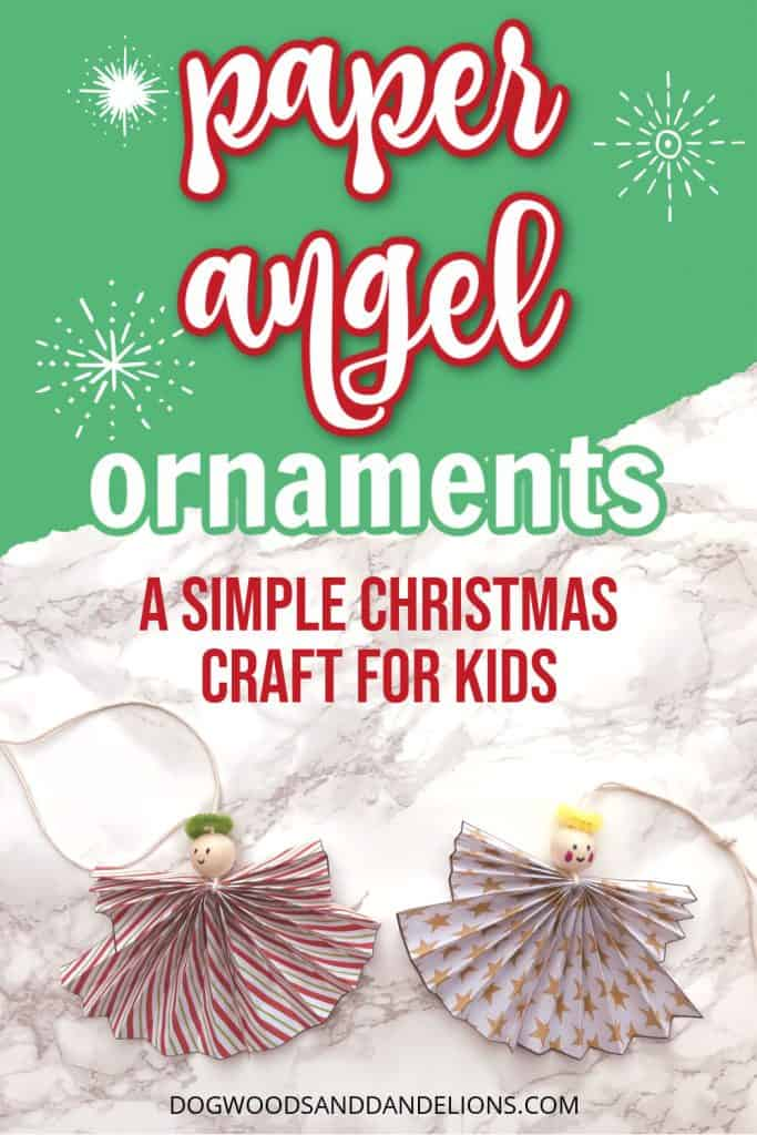 paper angle ornaments