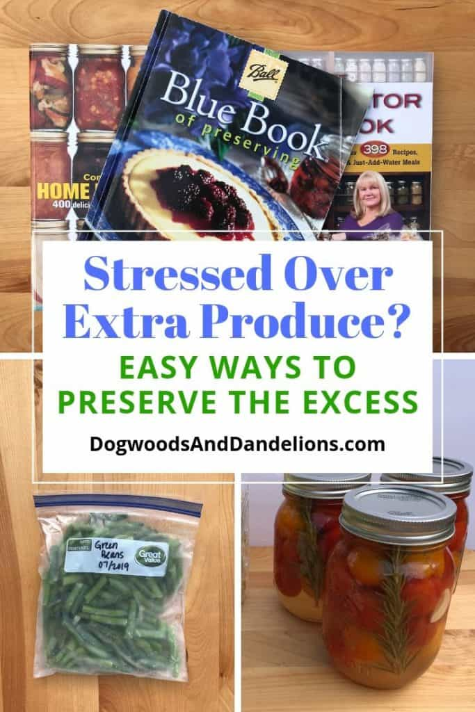 recipes for preserving the harvest