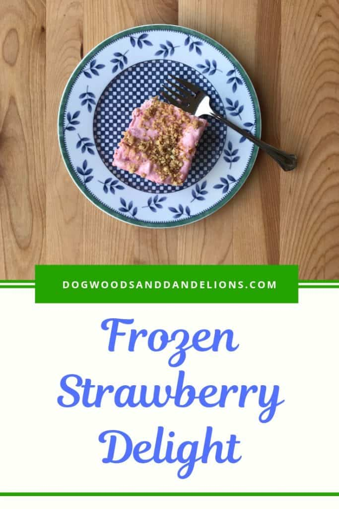 frozen Strawberry Delight for Easter, Mother's Day, Fourth of July