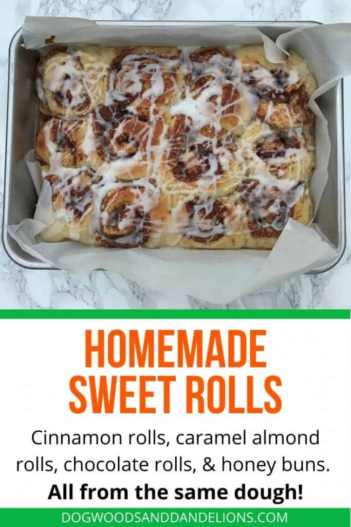 homemade sweet roll dough