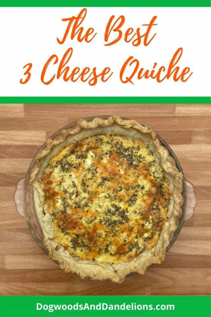Three Cheese Quiche