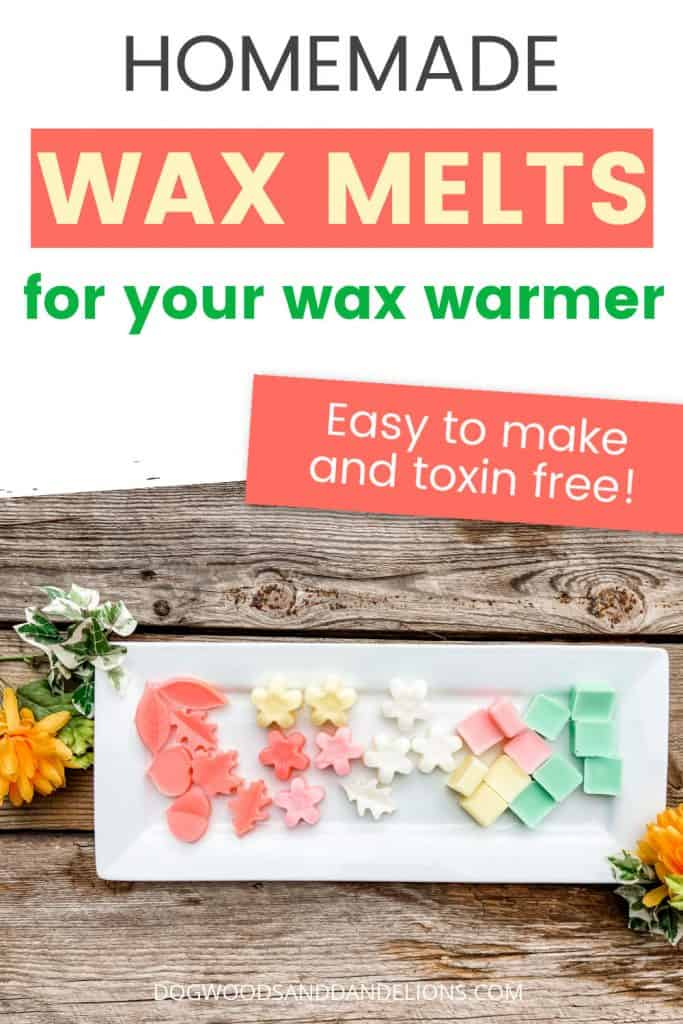 Homemade Wax Melts Dogwoods Dandelions
