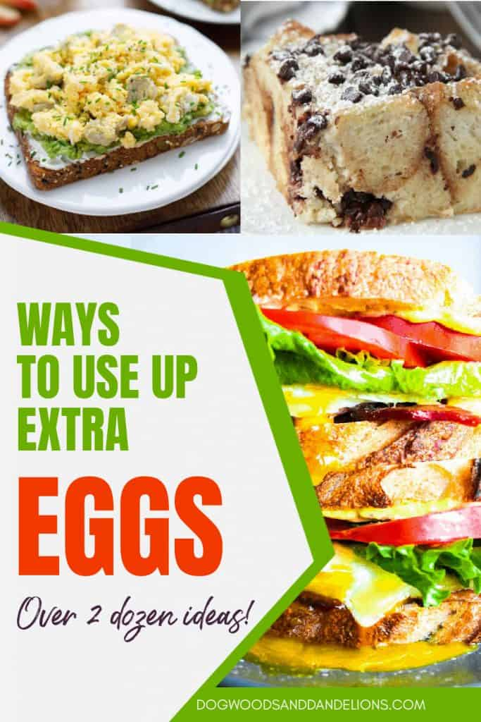 recipes that use extra eggs
